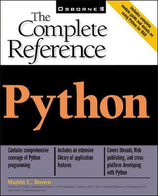 Python : The Complete Reference - Martin C. Brown