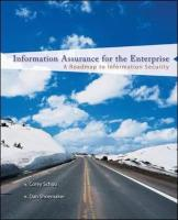Information Assurance for the Enterprise: A Roadmap to Information Security