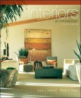Interiors Interiors: An Introduction an Introduction