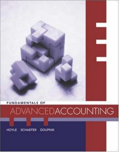 MP Fundamentals of Advanced Accounting with Dynamic Accounting PowerWeb and CPA Success SG Coupon - Joe Ben Hoyle; Thomas Schaefer; Timothy Doupnik