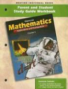 Mathematics Parent and Student Study Guide Workbook: Course 3: Applications and Connections