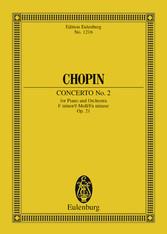 Piano Concerto No. 2, F Minor. Op. 21.