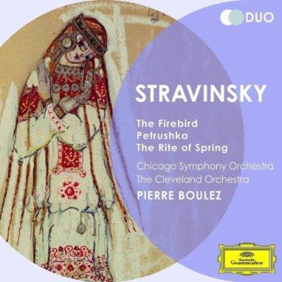 Ígor Stravinski. El Pájaro De Fuego, Fuegos Artificiales, Petrushka, La Consagración De La Primavera