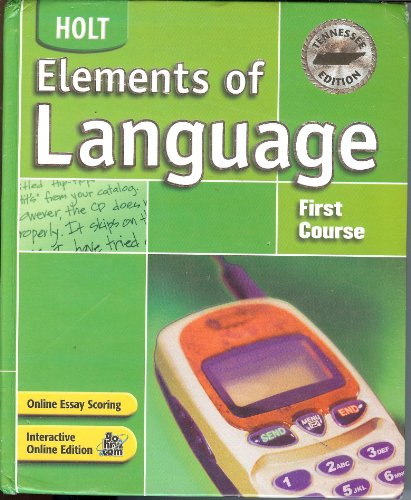 TN Elements of Language 2003 - O'Dell
