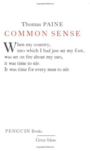 Common Sense (Penguin Great Ideas) - Thomas Paine