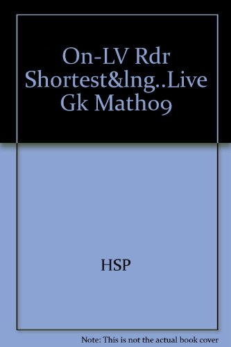 On-LV Rdr Shortest & lng..Live Gk Math09 - HSP