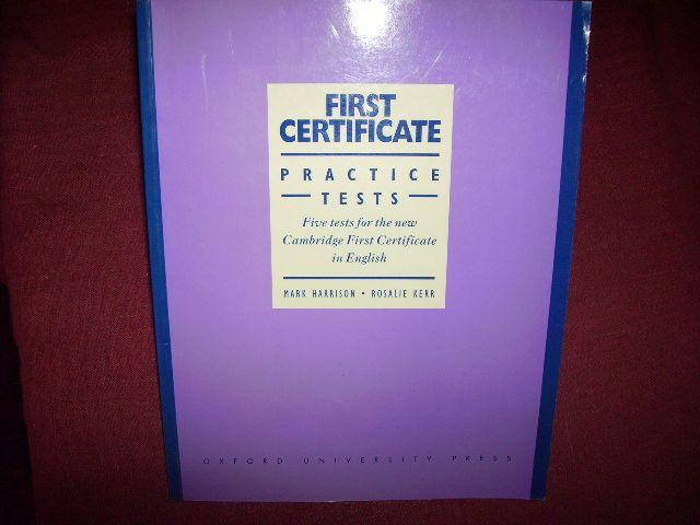 First Certificate Practice Tests: Without Answers Level 1: Five Tests for the New Cambridge First Certificate in English