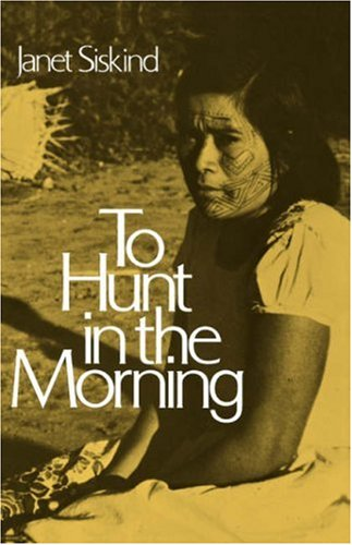 To Hunt in the Morning (Galaxy Books) - Janet Siskind