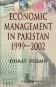 Economic Management in Pakistan, 1999-2002
