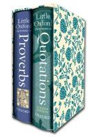Little Oxford Gift Box. 2 volumes
