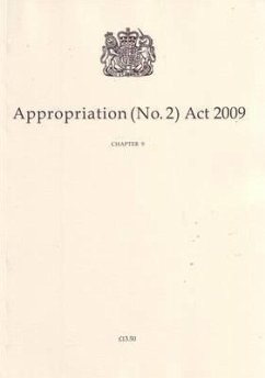 Appropriation (No.2) ACT 2009: Chapter 9