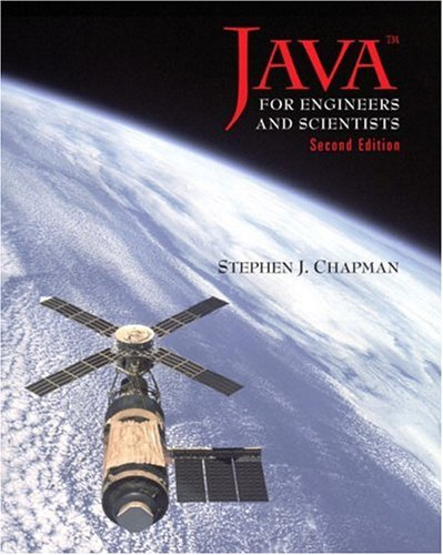 Java for Engineers and Scientists (2nd Edition) - Stephen J. Chapman