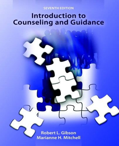 Introduction to Counseling and Guidance - Robert L. Gibson, Marianne Mitchell