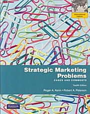 Strategic Marketing Problems - Robert Peterson Roger A. Kerin