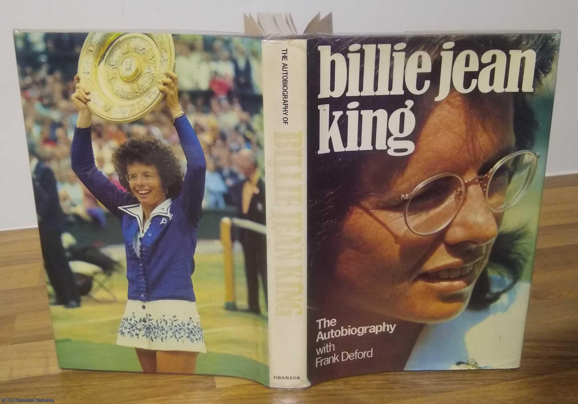 The Autobiography of Billie Jean King (with autographed card) - King (Billie Jean) with Frank Deford