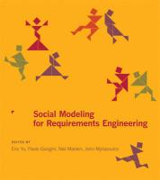 Social Modeling for Requirements Engineering