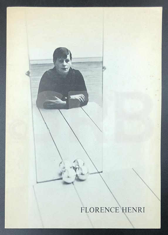 Florence Henri. Photographies 1927 - 1938. - PAGE (S.), MOLDERINGS (H.), THIECK (C.).