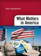 What Matters in America: Reading and Writing about Contemporary Culture