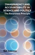 Transparency and Accountability in Science and Politics