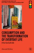 Consumption and the Transformation of Everyday Life: A View from South India