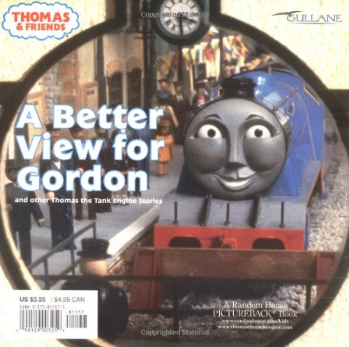 A Better View for Gordon (Thomas  &  Friends): And Other Thomas the Tank Engine Stories (Pictureback(R)) - Wilbert Awdry