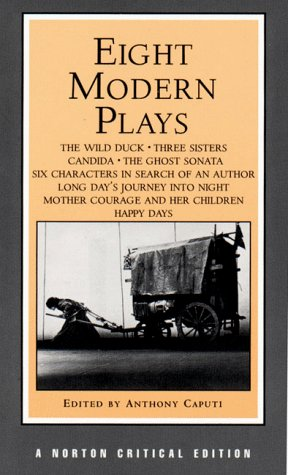 Eight Modern Plays (Norton Critical Editions) - Anthony Caputi