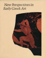 New Perspectives in Early Greek Art