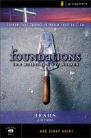 Foundations: Jesus: Small Group Study