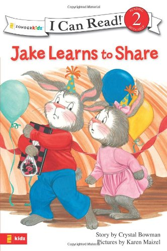 Jake Learns to Share (I Can Read! / The Jake Series) - Crystal Bowman