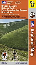 Brecon Beacons National Park: Eastern area 1 : 25 000