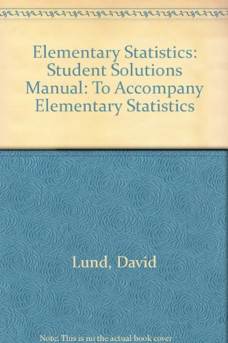 Student Solutions Manual - David Lund