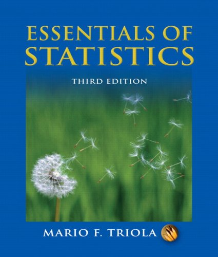 Essentials of Statistics (3rd Edition) - Mario F. Triola