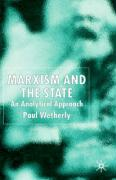Marxism and the State: An Analytical Approach