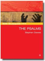SCM Studyguide to the Psalms