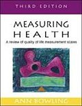Measuring Health - Ann Bowling