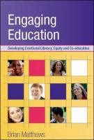 Engaging Education: Developing Emotional Literacy, Equity and Co-Education