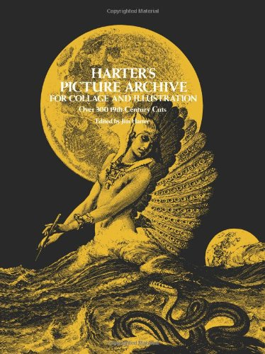 Harter's Picture Archive for Collage and Illustration (Dover Pictorial Archive) - Jim Harter