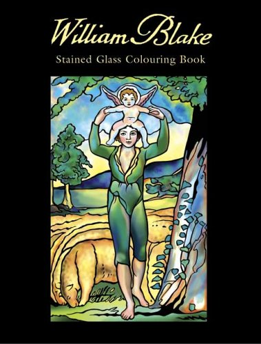 William Blake Stained Glass Colouring Book (Dover Pictorial Archives) - William Blake; Marty Noble
