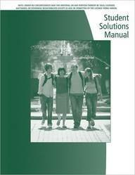 Student Solutions Manual (Revised) for Dwyer/Gruenwald's Precalculus - David Dwyer; Mark Gruenwald