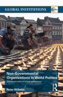 Non-Governmental Organizations in World Politics