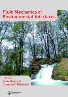 Fluid Mechanics of Environmental Interfaces