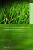 State Formation and Radical Democracy in India