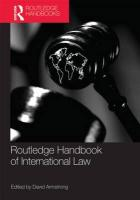 Routledge Handbook of International Law