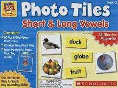 Little Red Tool Box: Photo Tiles: Short & Long Vowels