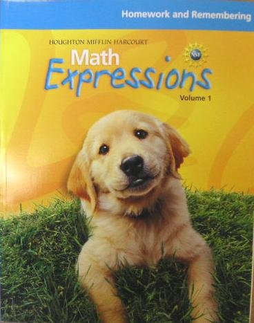 Math Expressions: Homework and Remembering (Consumable) Level K Set - HOUGHTON MIFFLIN
