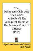 The Delinquent Child and the Home: A Study of the Delinquent Wards of the Juvenile Court of Chicago (1916)