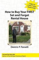 How to Buy Your First Set and Forget Rental House