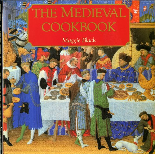 Medieval Cookbook - Black, Maggie