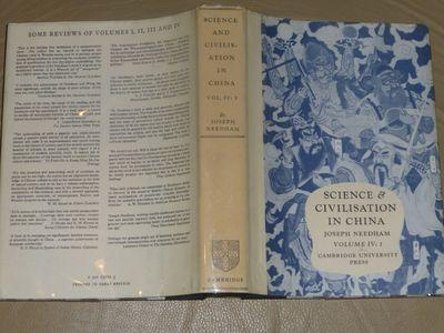 Science and Civilisation in China, Volume 4 (IV): Physics and Physical Technology; Part 1: Physics - Needham, Joseph