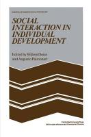 Social Interaction in Individual Development
